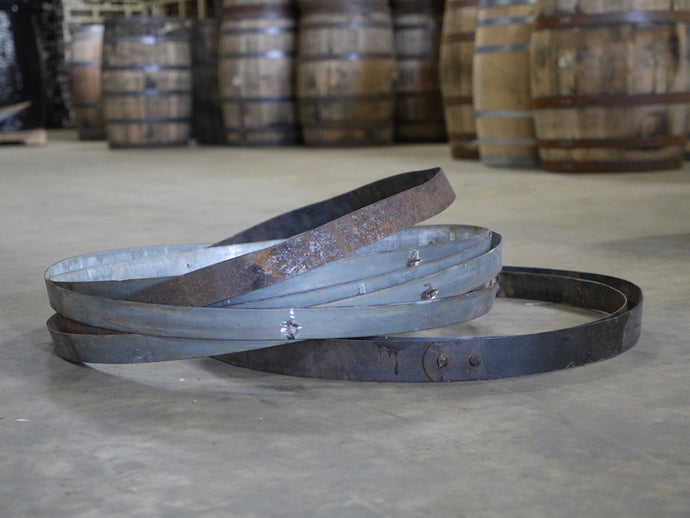 59g Wine and 53g whiskey barrel Hoops or Bands