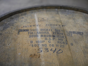George Dickel 53g Sour Mash Whiskey Barrel