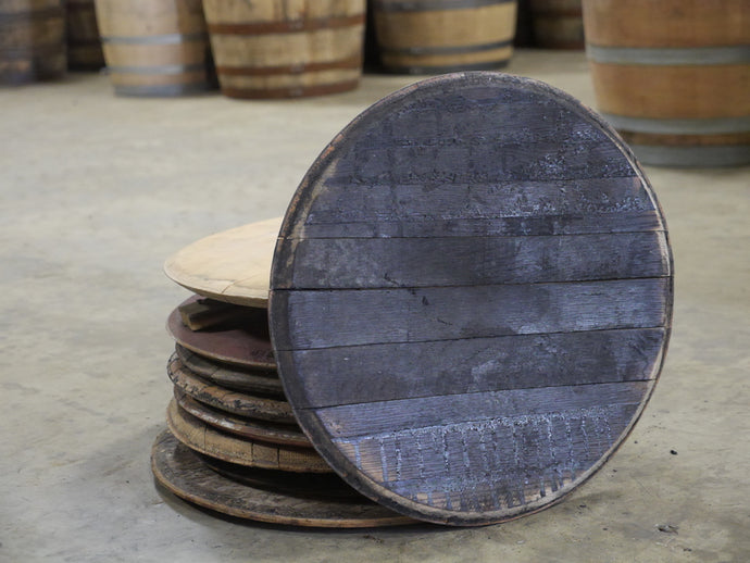 Whiskey Barrel Heads