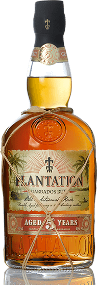 SALE ~PLANTATION BARBADOS Rum aged 6 YEARS 53g (ex bourbon barrels & Ferrand French oak casks). GUARANTEED WET & NOT TO LEAK. Small amount of rum still inside