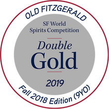 "Load image into Gallery viewer, SALE Old Fitzgerald & Larceny 53g Heaven Hill Wheated Bourbon ""Double Gold 2019 SF World Spirits Competition"" aged 8 yrs. Arrived Nov 18"