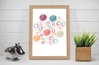 Circles Wall Art