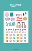 Colorful Planner Stickers