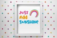 Just Add Sunshine