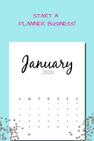 InDesign 2020 Dated Calendar Templates #4