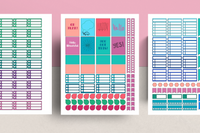 Notes Planner Stickers