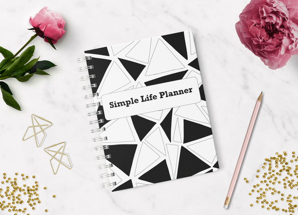 Simple Life Planner- Black and White {55 Pages}