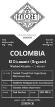 Load image into Gallery viewer, COLOMBIA El Diamante (Organic) Washed