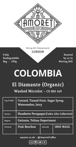 Colombia El Diamante (Organic) Washed