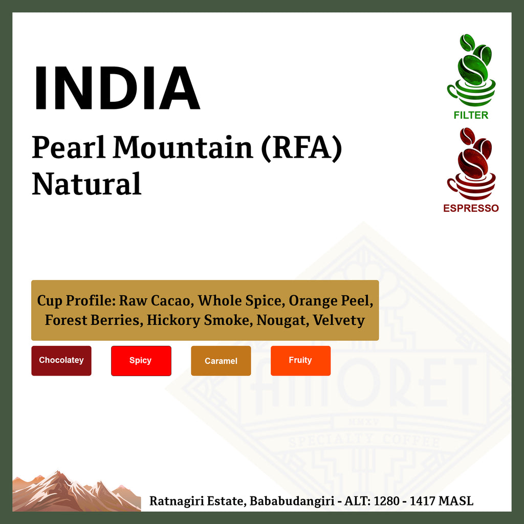 INDIA Pearl Mountain (RFA) Natural