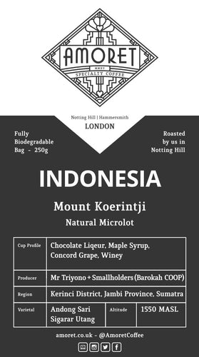 INDONESIA Mount Koerintji (Natural Microlot)