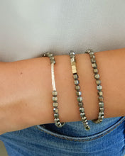 Load image into Gallery viewer, Hematite gold bracelet/ necklace
