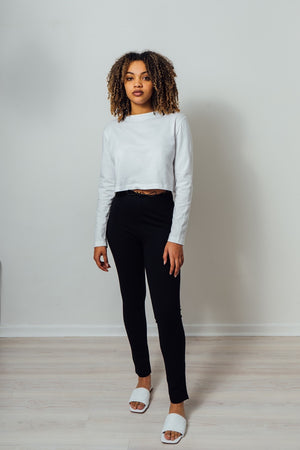 Load image into Gallery viewer, Ella Cropped Long Sleeve T-Shirt