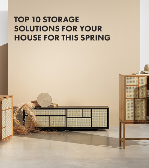 Top 10 storage solutions for your house for this spring