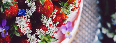 Strawberry Fields Forever - enjoy a lush Swedish summer cake, now at the best of strawberry times