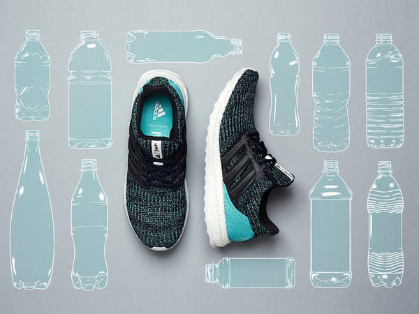 Sustainable fashion, adidas recycled sneakers