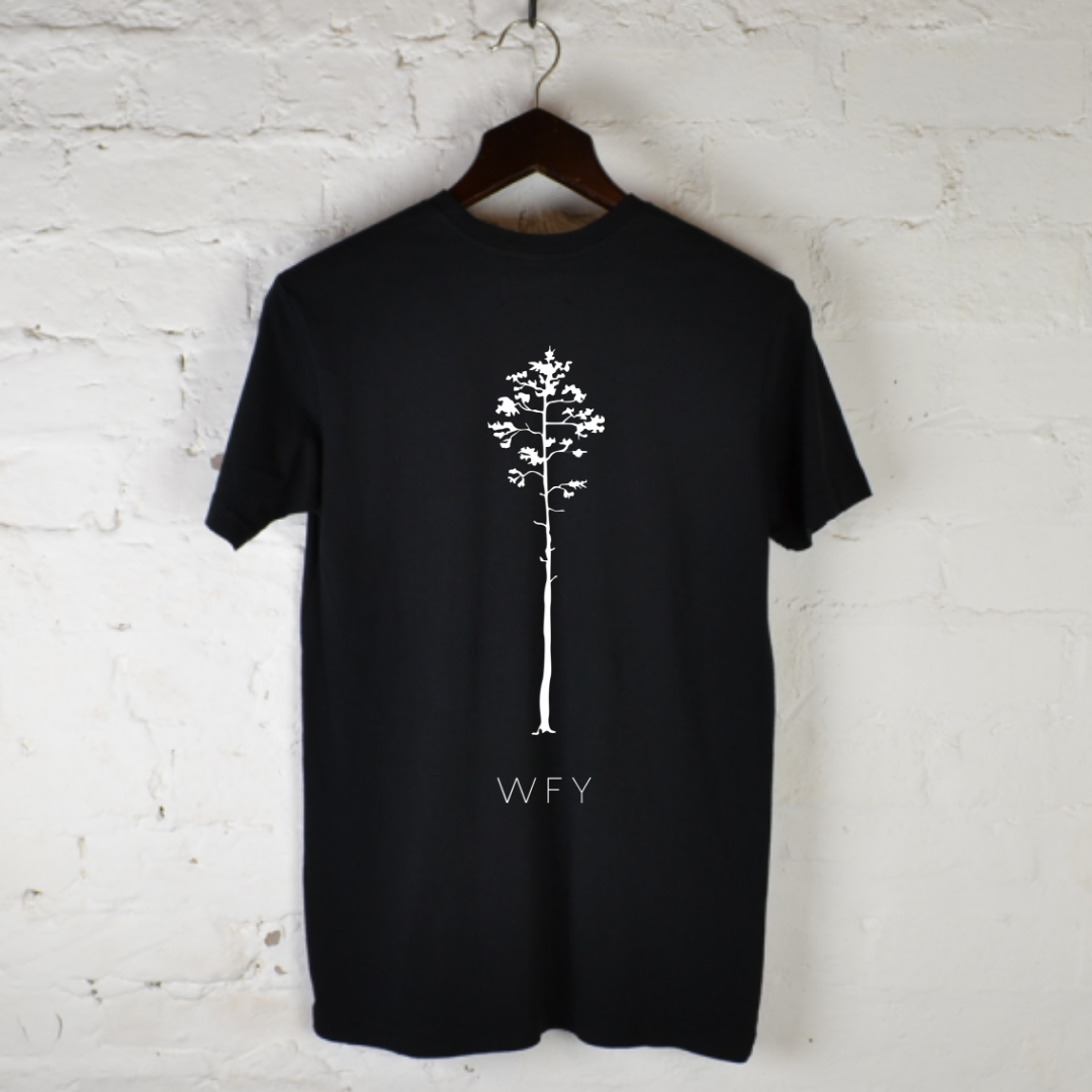 Nut tree Back - 100% Organic Tee