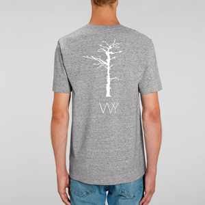 Born from ashes back - 100% Organic tee