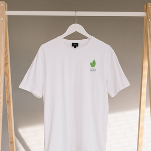 Leaf in the present - 100% Organic cotton