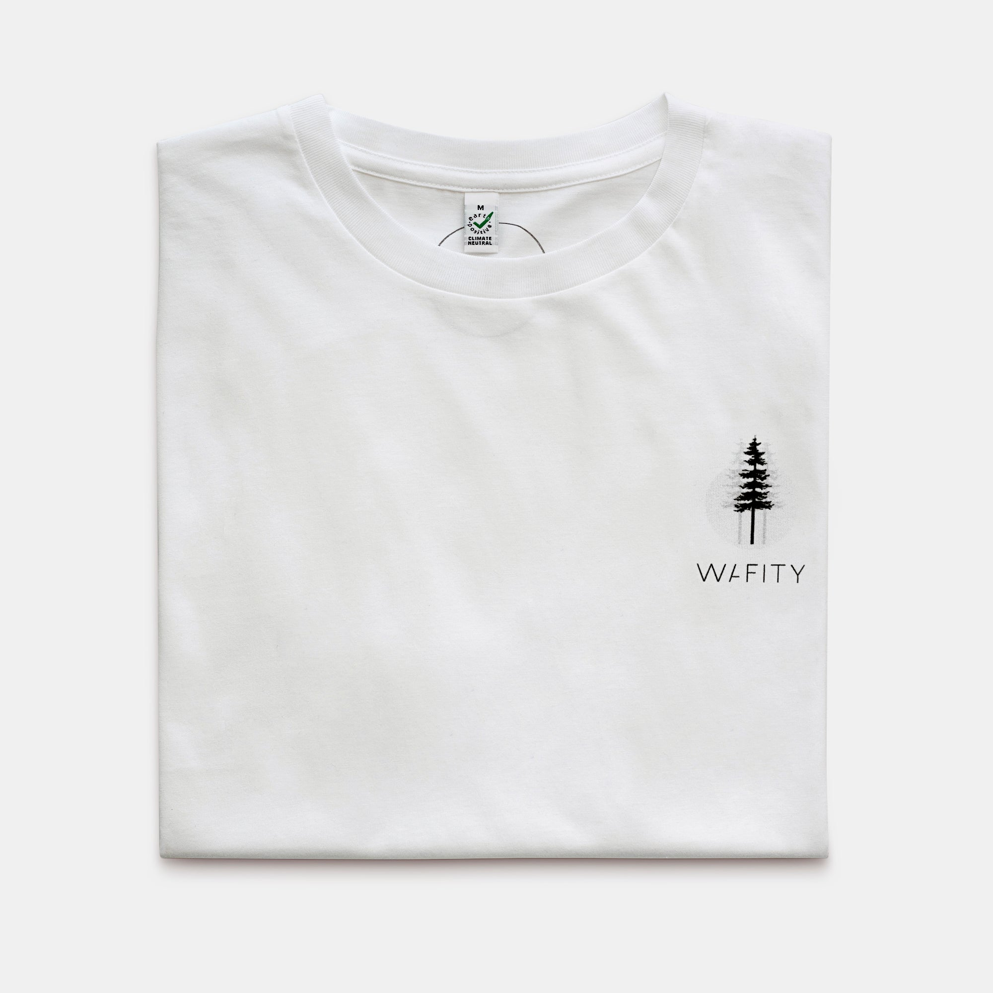 Pine Forest chest - 100% Organic Tee