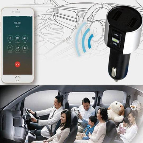 Multi-function smart car charger