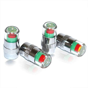 Monitor Tire Caps(4 Pcs/Set)