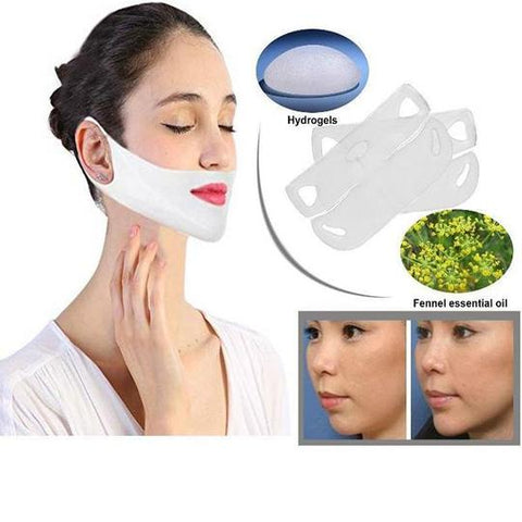 Image of Miracle V-Shaped Slimming Mask (2 Pieces/Set)
