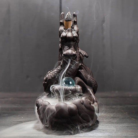 Dragon Back-Flow Incense Burner