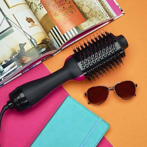 The REV™ One-Step Professional Blowout Brush