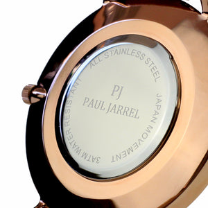 back case watch, back case paul jarrel, steel stainless watch case