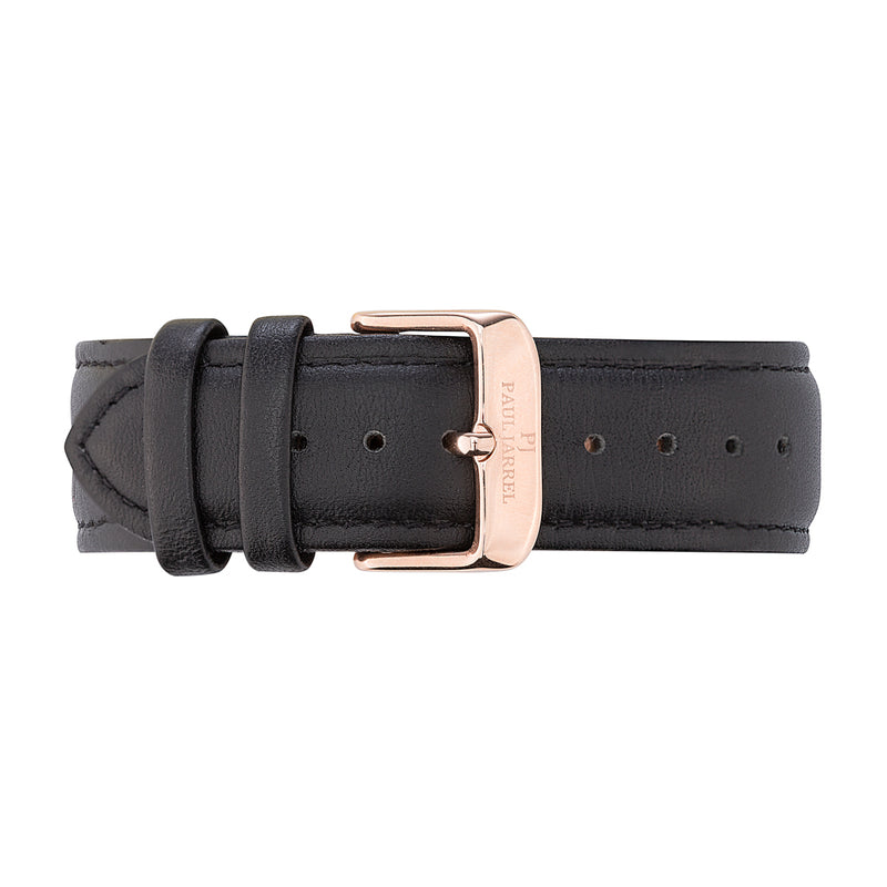 Paul Jarrel leather watch strap for men