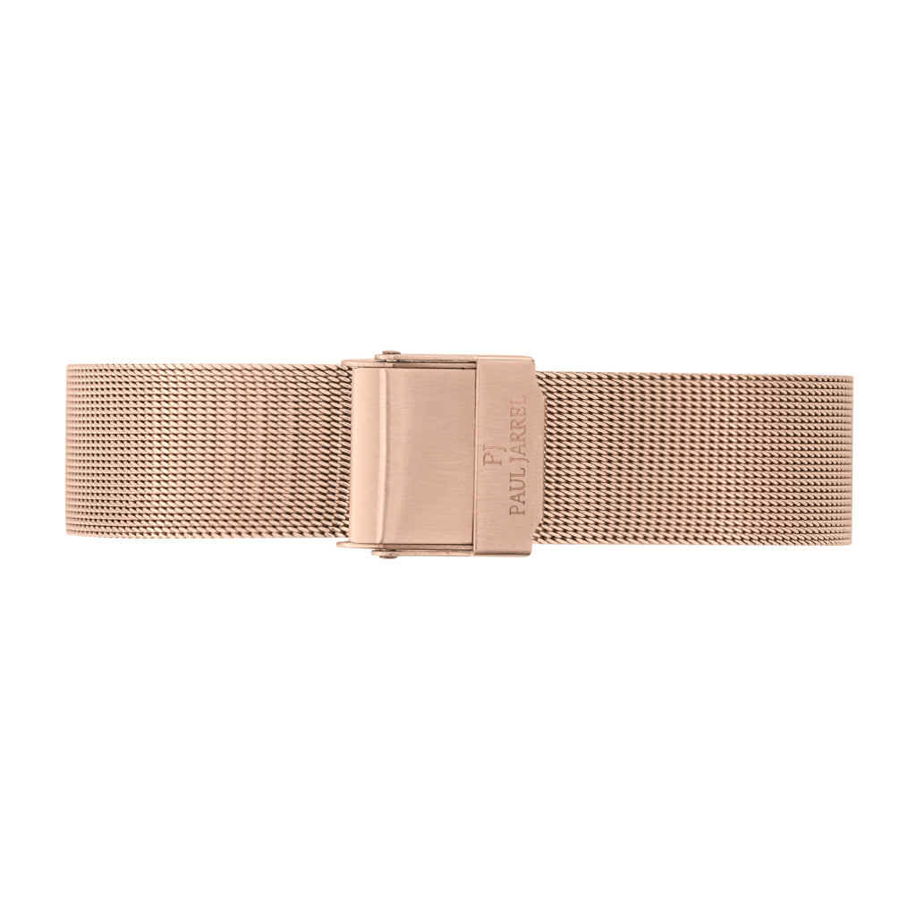 petite rose gold mesh watch strap FOR WOMEN Paul Jarrel