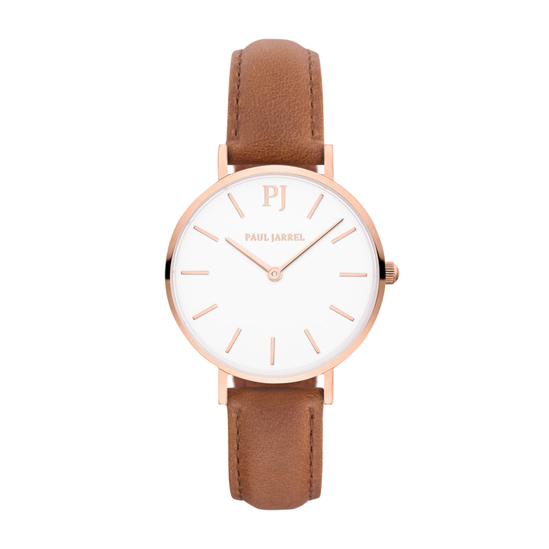 Petite watch elegant leather strap for women Paul Jarrel, paul watches, leather watch for women, womens watches leather brown, RELOJES BARATOS, RELOJES MUJER BARATOS, RELOJES MUJER,MONTRE FEMME, MONTRE FEMME PAS CHER, MONTRE FEMME EN CUIR