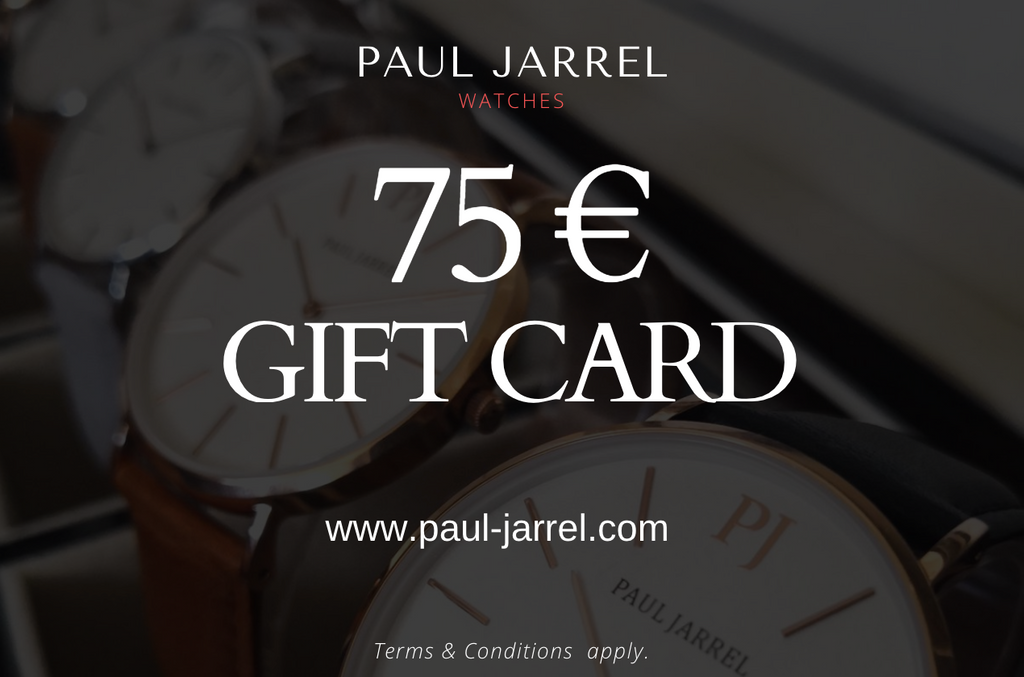 Gift, Gift card, Paul Jarrel, watches, gift card Paul Jarrel, Paul Jarrel, Paul watches, gift, present, gift idea