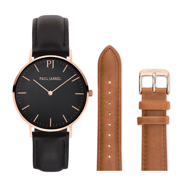 Paul watches/Amazon watches, leather watches, Amazon, relojes