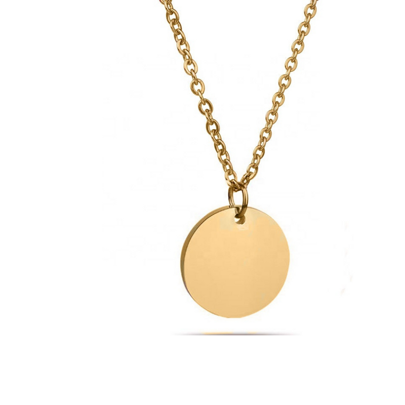 NECKLACE⎜COIN GOLD