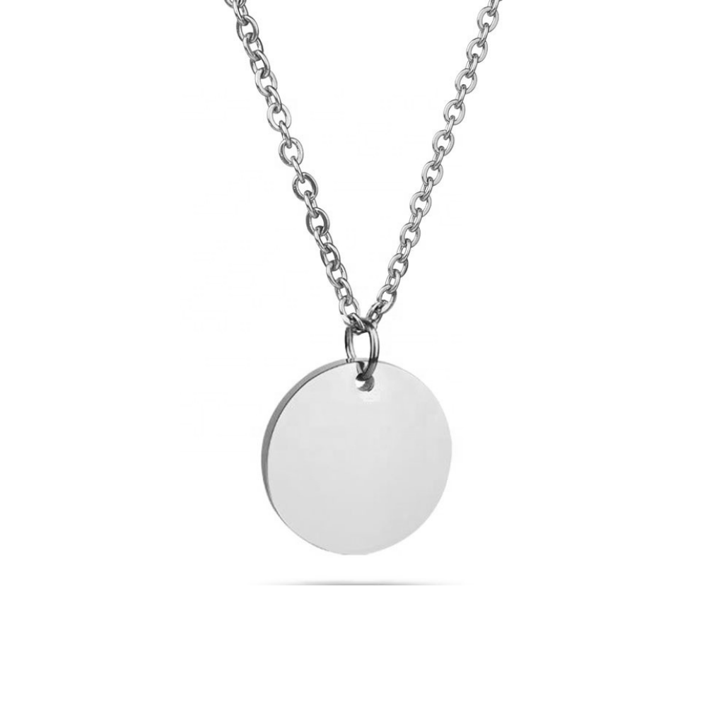 NECKLACE⎜COIN SILVER
