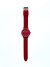 Montre rouge, red watches, red silicone watches, swatch red watch, ice watch red watches, colorful watches, red matte watches, paul jarrel watches, amazon red watch, el corte ingles red watches, red watch unisex, red watch for women, red watch for men, silicone red watches
