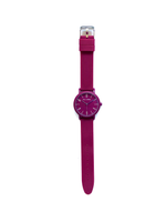 Burgandy watch, watch bordeaux, purple watch, women burgandy watch, swatch burgandy, ice watch, colorful watches, silicone burgandy watch, silicone watches Paul Jarrel, plastic watches, montre bordeaux, relojes silicona mujer, burgandy men watches, unisex watch, el corte ingles colorful, colorful collection, winter watch collection, flat watch, thin watch burgandy,