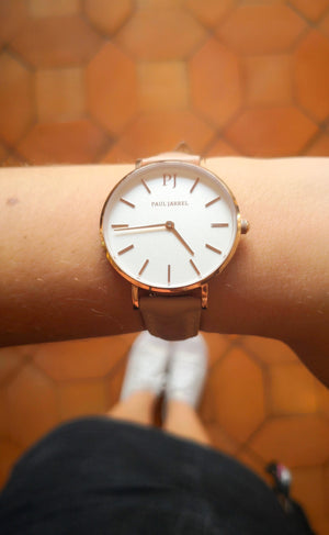 Paul Relojes, relojes de cuero, relojes de cuero para mujeres, relojes asequibles