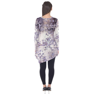 Cherry Blossoms Long Sleeve Tunic