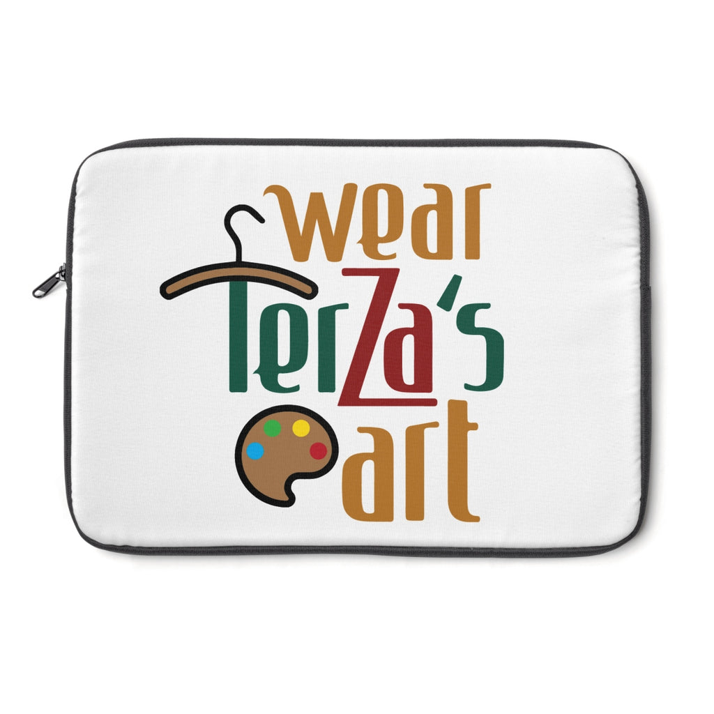 Wear Terza's Art logo Laptop Sleeve