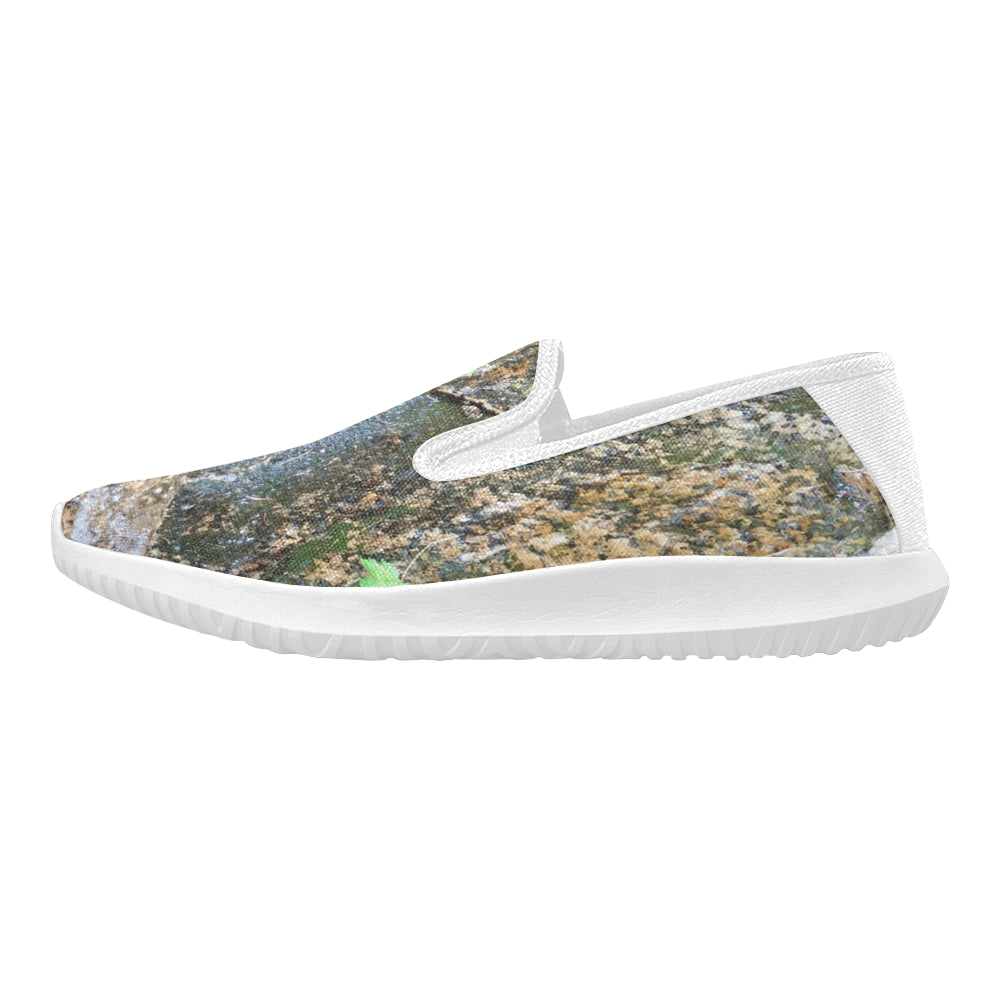 Stone Moss Orion Slip-on Women's Canvas Sneakers