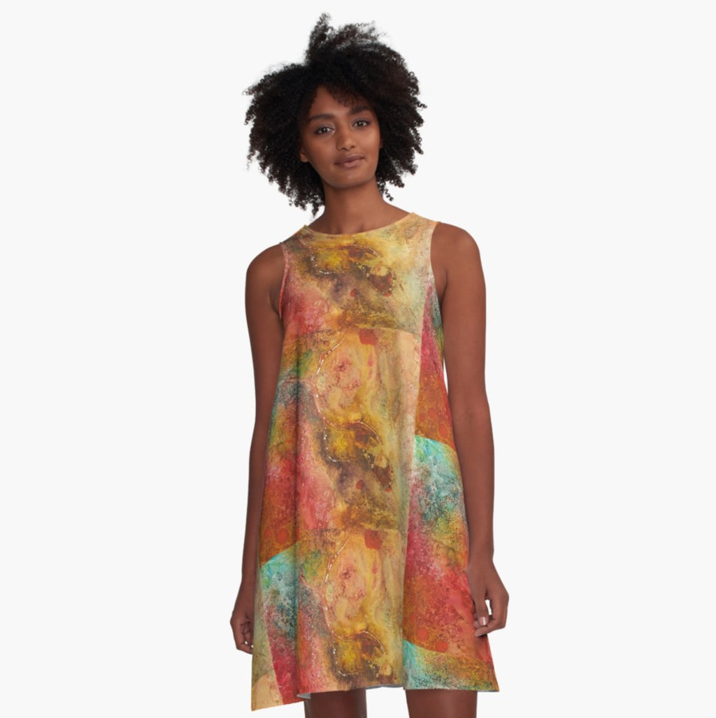 Afterburn A-Line Dress