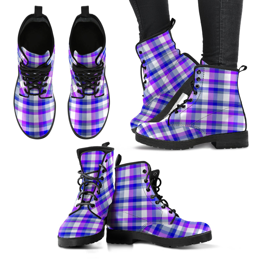 Robyns Plaid (Vegan Leather)