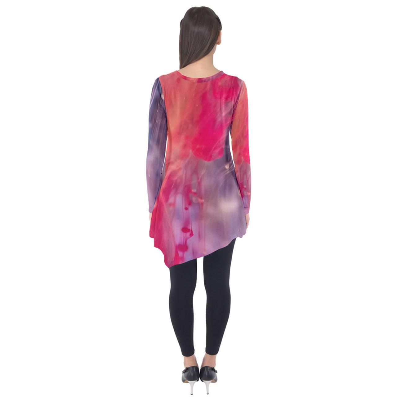 Cosmic Spring Long Sleeve Tunic