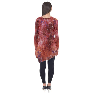 Confetti Universe Long Sleeve Tunic
