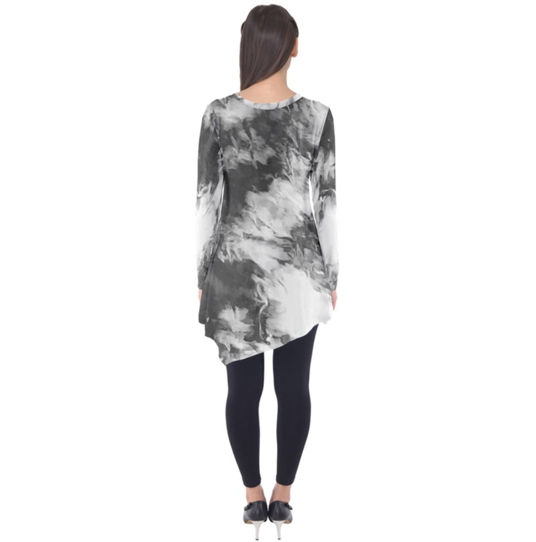 Just the Grays Long Sleeve Tunic