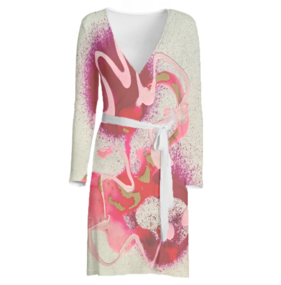 Ooh La La! Custom Long Sleeve Wrap Dress