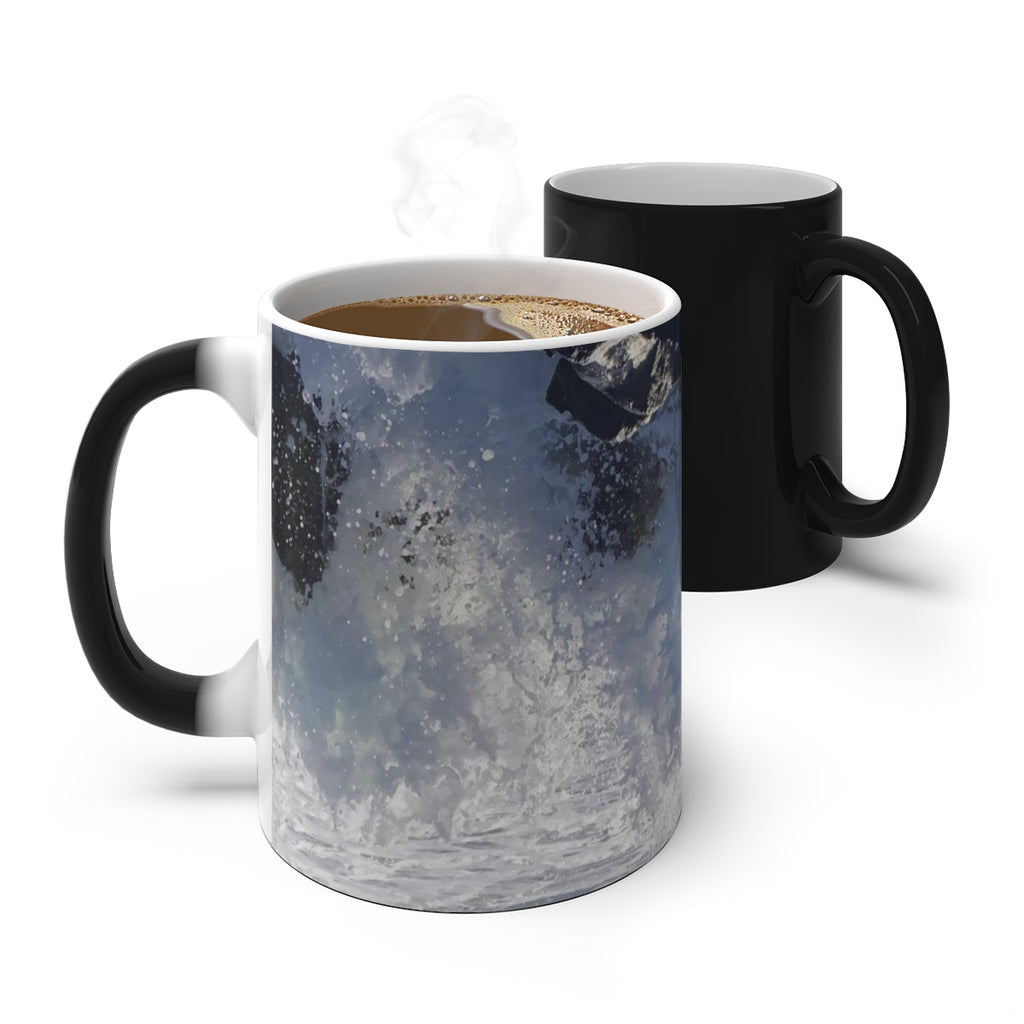 Into the Spray Color Changing Mug